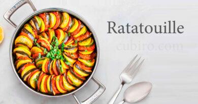 Cómo preparar la Ratatouille de Rémy