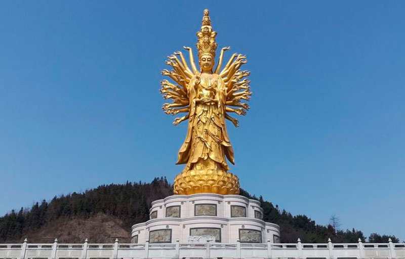 Qianshou Qianyan Guanyin de Weishan