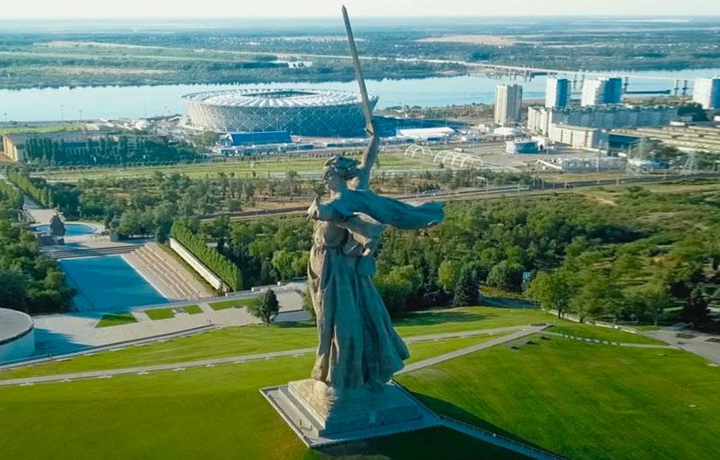 Rodina-Mat Zovyot en Rusia