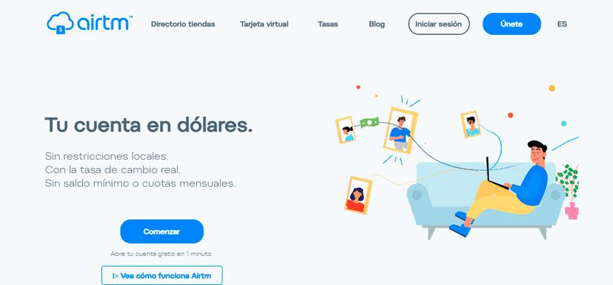 Cómo enviar dólares a Venezuela por internet