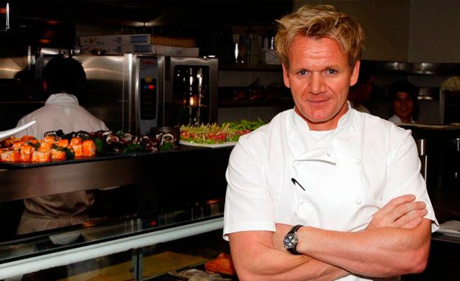 Los mejores Chefs del Mundo Gordon Ramsay