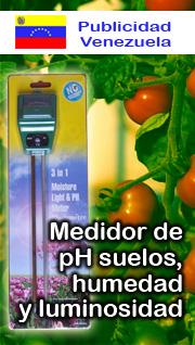 Medidor de pH de suelos
