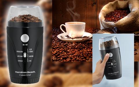 invento genial: molino manual electrico de cafe